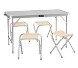 стол складной с 4 табуретами